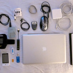 My electronic travel gear