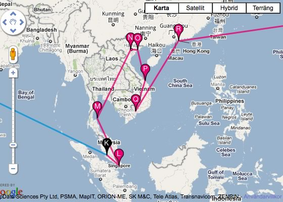 travelmap New map plugin for travel blogs